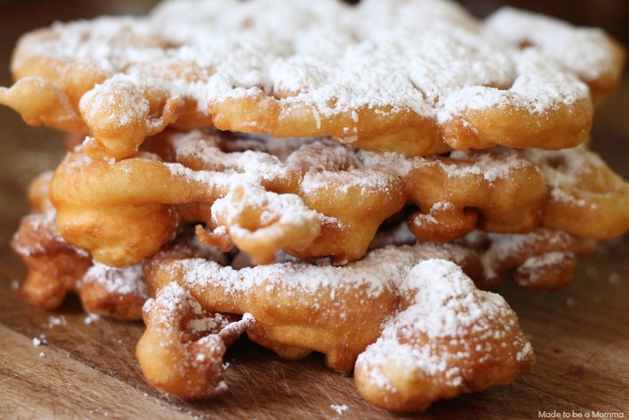 Funnel Cakes Close up
