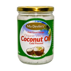 MaDevlins Organic Virgin Coconut Oil 500ml