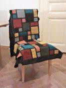 Zwischenstadium: Die gepatchten Teile sind groß genug für den Stuhl.