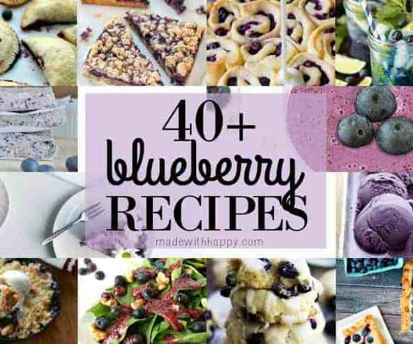 40+ Delicious Blueberry Recipes