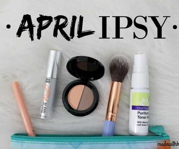 April IPSY Glam Bag