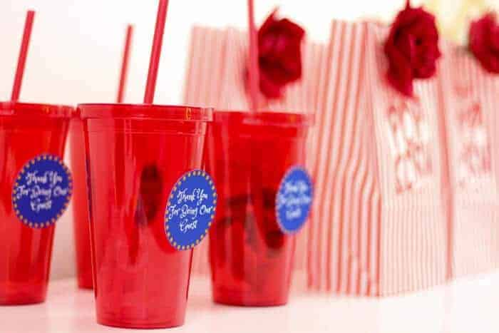 Disney's Beauty and the Beast Movie Night | Beauty and the Beast Party | Beauty and the Beast themed party ideas | Beauty and the Beast Tea Party | Beauty and the Beast Invites | www.madewithhappy.com