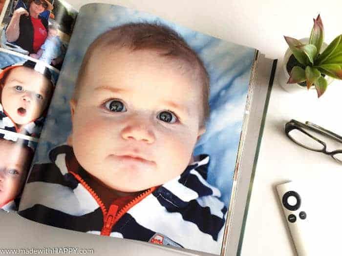 DIY Baby Photo Books