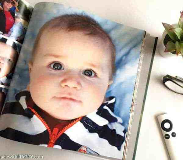 DIY Baby Photo Books