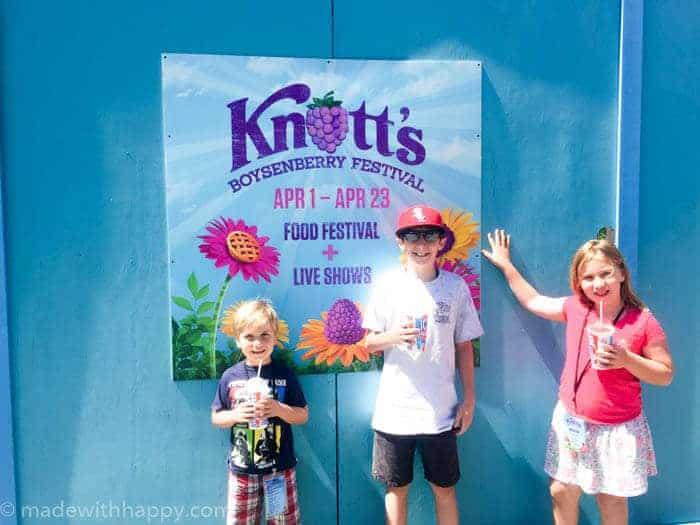 The Boysenberry Festival at Knott's Berry Farm