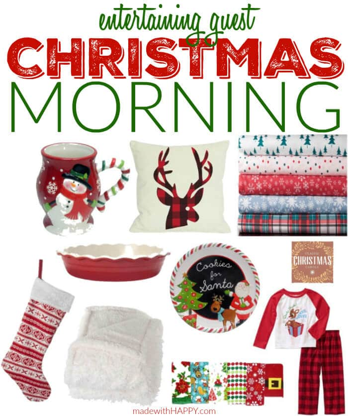 Entertaining Guest on Christmas Morning | Happy Christmas Morning | Made with HAPPY | http://lynk.to/TCPQB #HostWithKH #ad