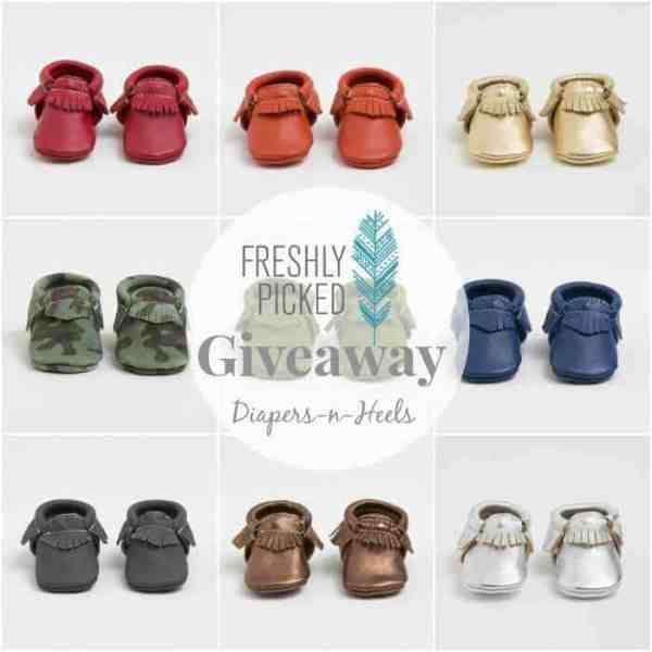 Baby Moccasins + Giveaway