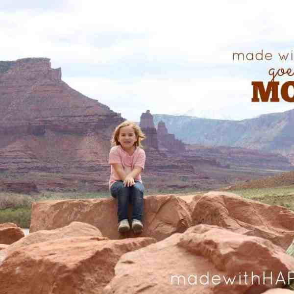 Family Adventure Moab {Part 1}