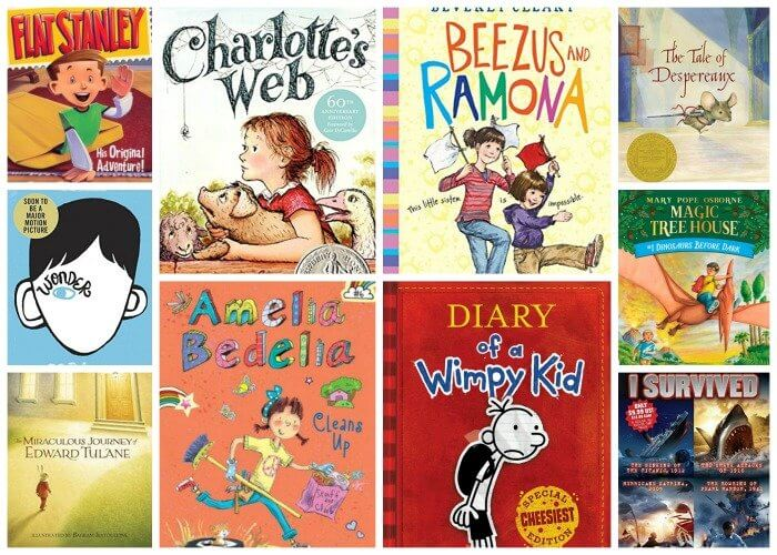Top 10 Chapter Books for young readers. We're sharing our top picks for young readers that are looking for some great chapter books. www.madewithhappy.com