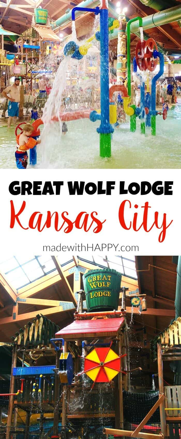 Great Wolf Lodge Kansas City Made With Happy