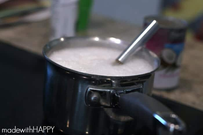 heating-coconut-syrup