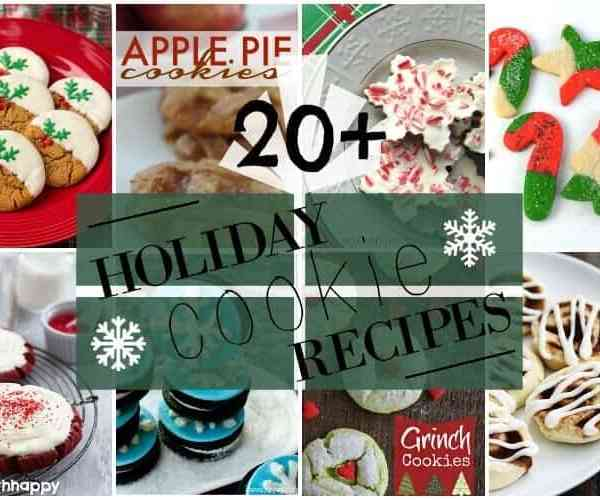 20+ Holiday Cookies