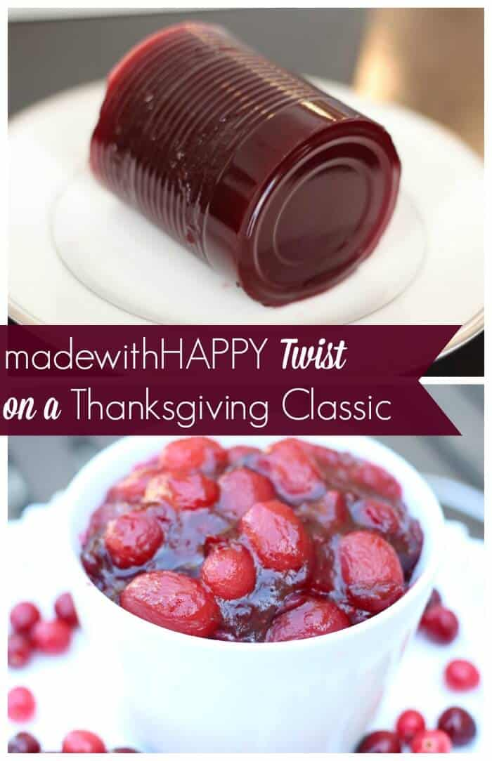 Cranberry Grape Compote | Thanksgiving Cranberry Recipe | Homemade Thanksgiving | Easy Thanksgiving Side Dishes | www.madewithhappy.com