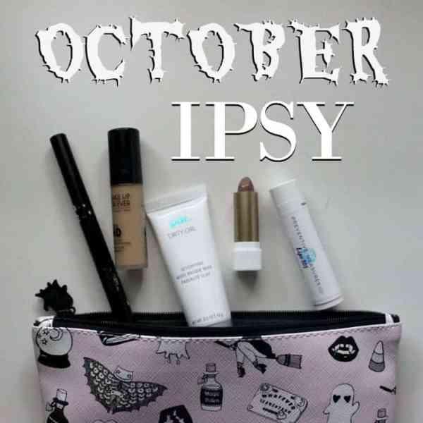 October IPSY Glam Bag 2016