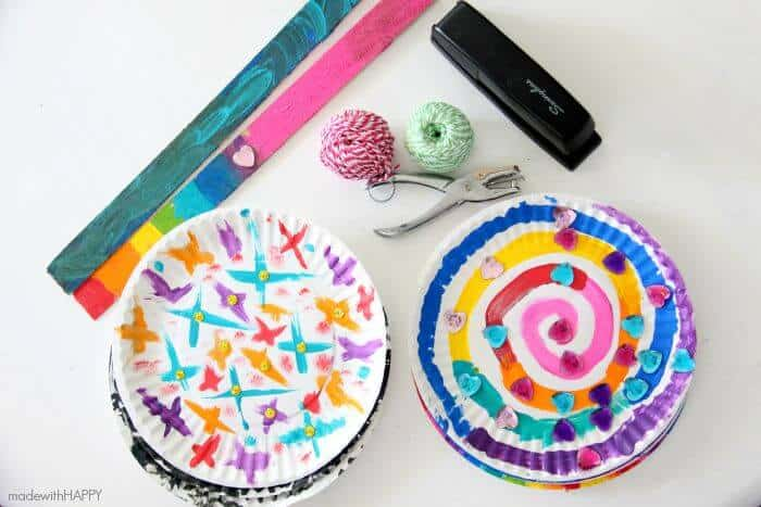 Fun Paper Crafts Plates