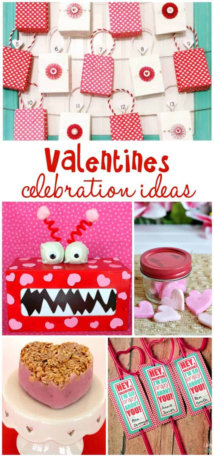 Valentines Celebration Ideas | Valentines Box | Valentines Countdown | Free Printables | Heart Shaped Treats | www.madewithHAPPY.com