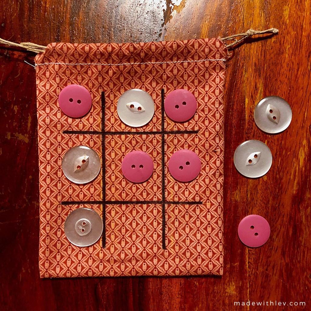 Travel Tic Tac Toe game via Balancing Home