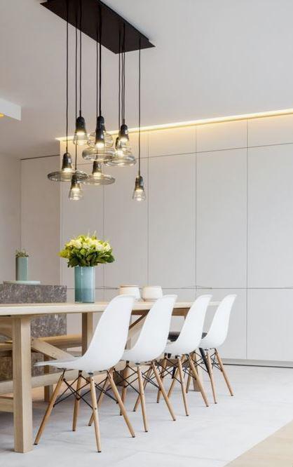 3463/v sedia con cuscino in tessuto cat.1 cm. Come Illuminare Il Tavolo Da Pranzo Made With Home
