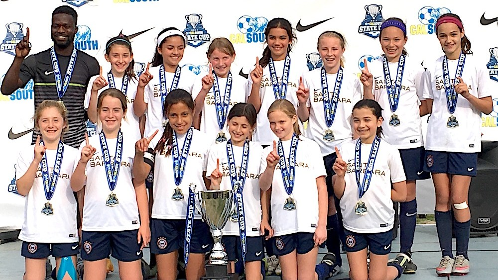 Mad Fitness Congratulates Santa Barbara Soccer Club Girls Team