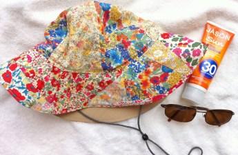 Liberty Fabric Scrap Sun Hat - Mad For Fabric
