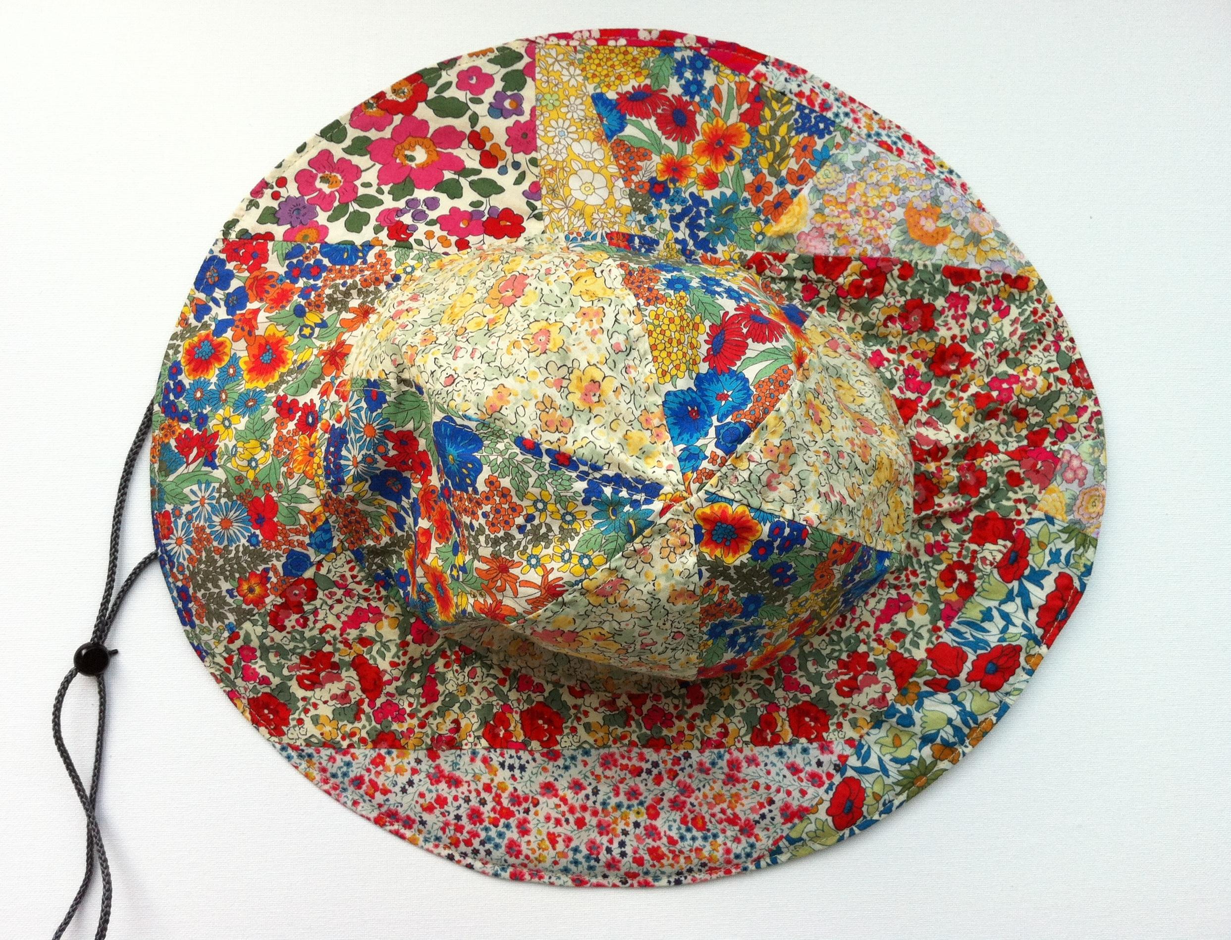 2962e4ff277 Liberty Fabric Scrap Sun Hat