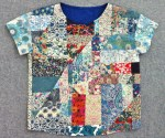 Mad For Fabric - Liberty London Patchwork Top