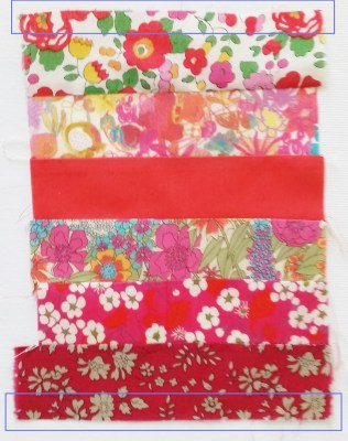 Mad For Fabric - Liberty Strips Sewn