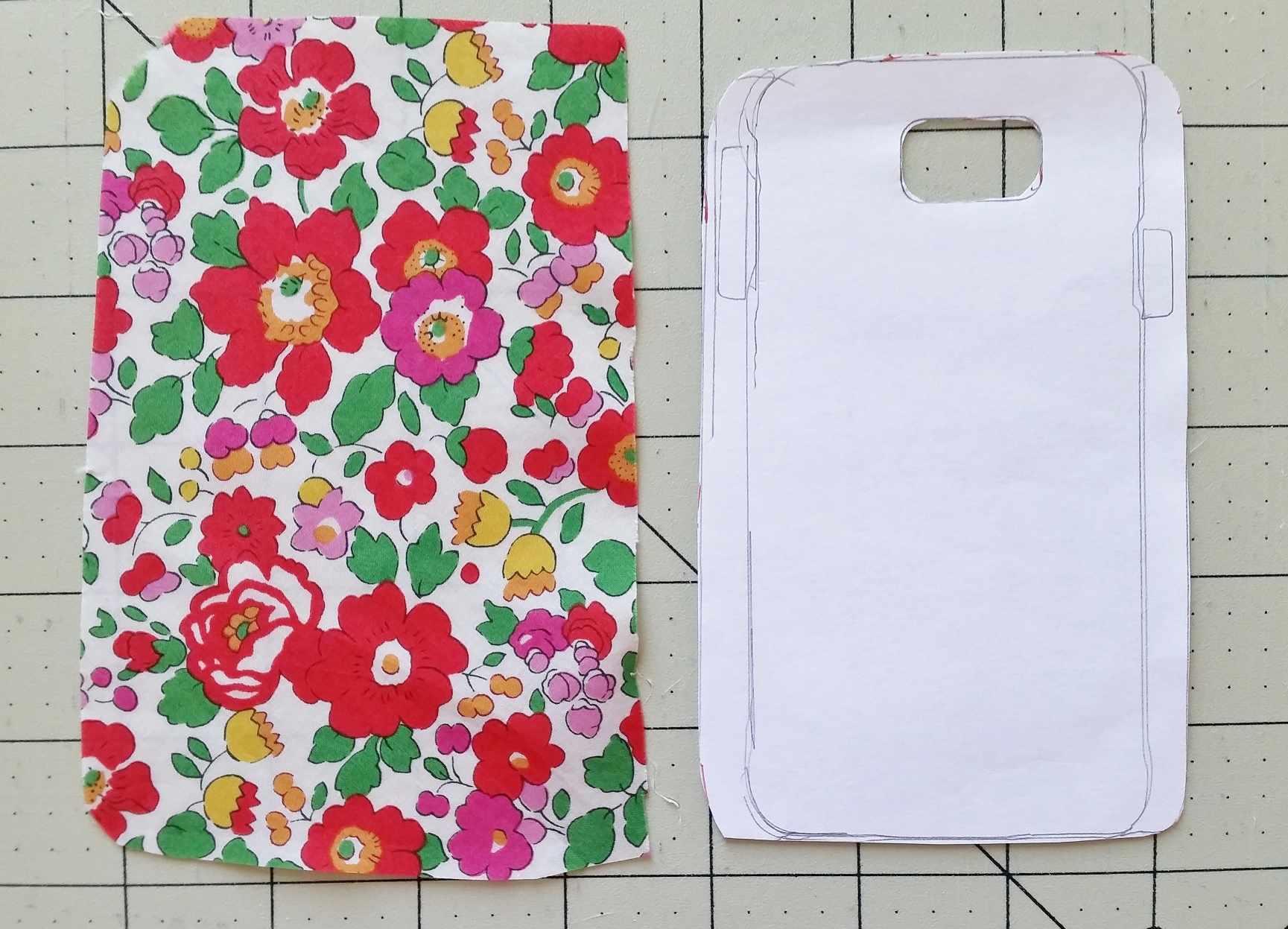 Diy fabric covered phone case for Diy phone case template