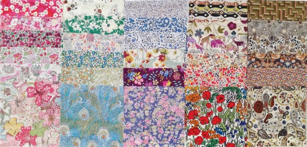 MadForFabric - Liberty Charm Pack 30 Piece Assorted Pack 2
