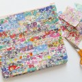 Mad For Fabric - Laminate Liberty Scrap Pouch