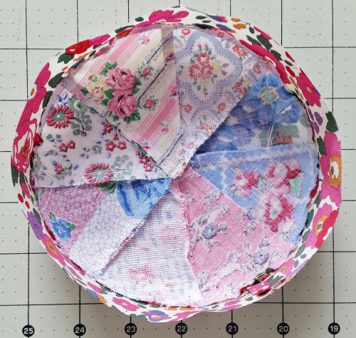 Mad For Fabric - Pincushion Band Sewn Together Seam Ironed