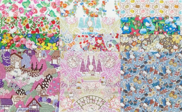 Liberty Hello Kitty Fabric