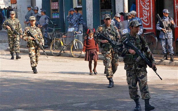 Representation of Madhesis in Nepal Police, APF, Nepal Army