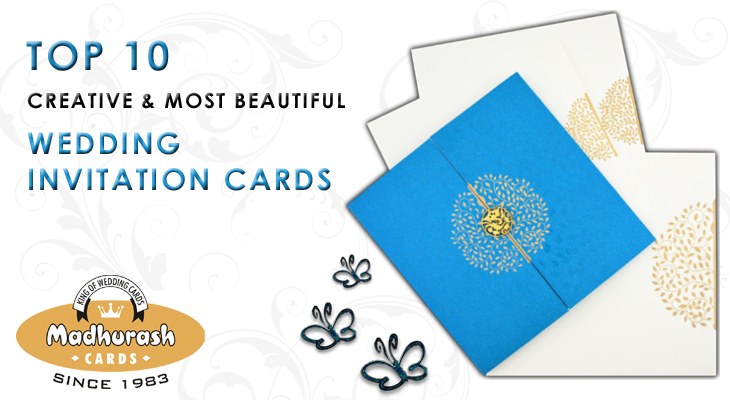 Top 10 Wedding Invitation Cards