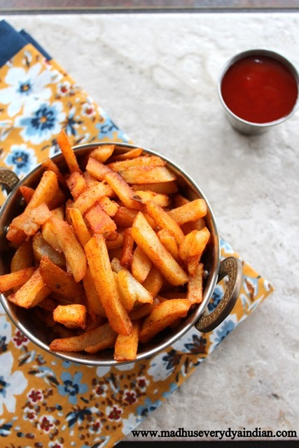 PAN FRIED FRIES