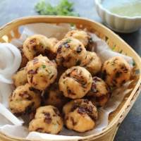 Deep fried Rice Balls | Rice bonda |Indian Snack Item