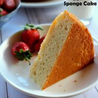 Eggless Vanilla Sponge Cake Recipe (video & step by step pictures)   eggless vanilla cake recipe