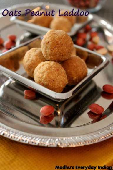 oats peanut laddu