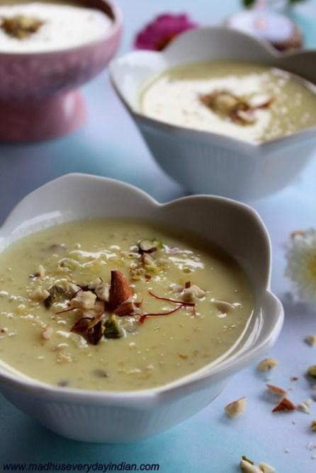 rice kheer recipe