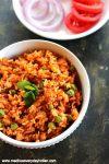 tomato masala rice recipe