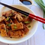 sweet & spicy tofu recipe | how to make chili tofu recipe