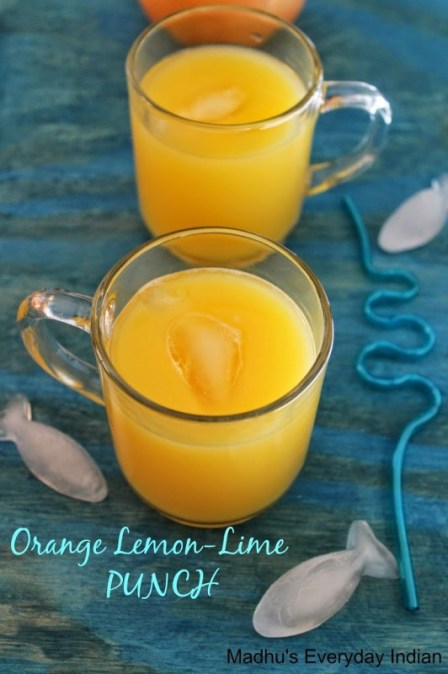 orange lemon lime punch