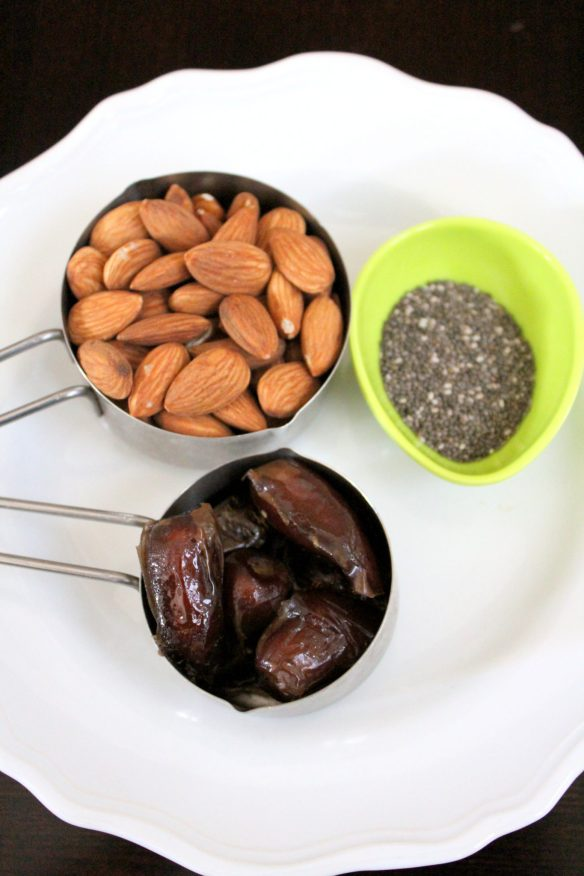 dates almond ladoo ingredients