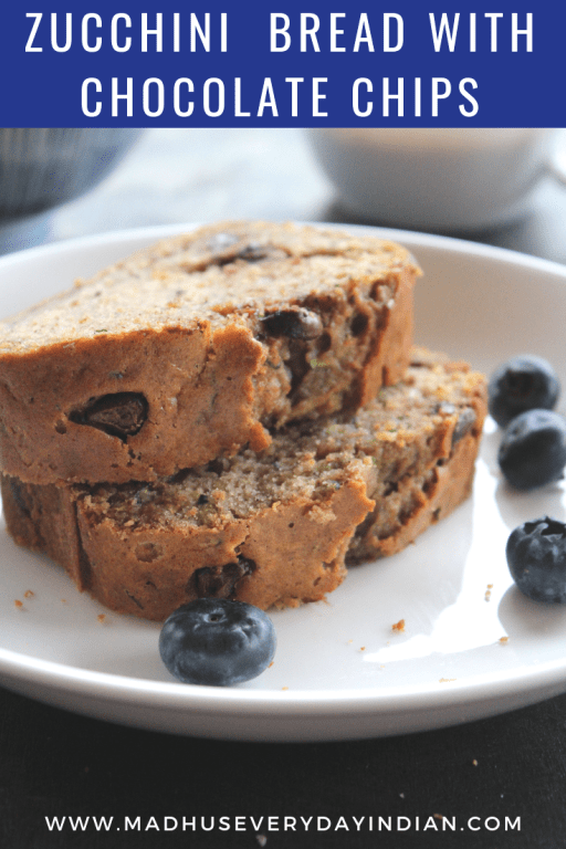 zuccini bread with chocolate chips