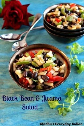 http://www.madhuseverydayindian.com/black-bean-jicama-salad-salad-recipes/