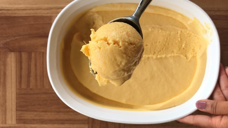 home made mango ice cream recipe