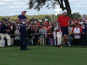 The inspirational Phil Mickelson specialised in dodgy driving and phenomenal putting.
