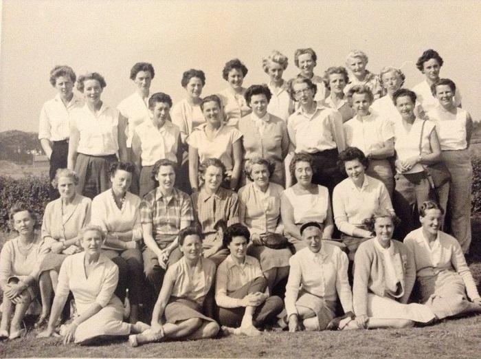 RPGC - Ladies' Branch circa 1959