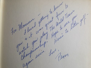 A cherished message