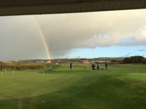 The boys battle on towards the pot of tea at the end of the rainbow.